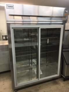 Delfield 2 Door Glass