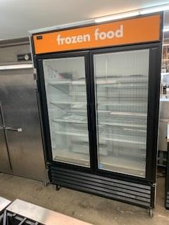 2 Door Display Freezer